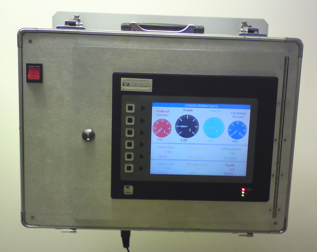 Ct Data Acquisition System : Corr science coiled tubing data acquisition system